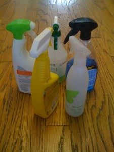 Make your own cleaners photo