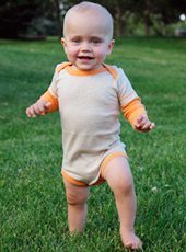 boys organic cotton onesies long sleeve