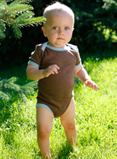 boys organic cotton onesies short sleeve