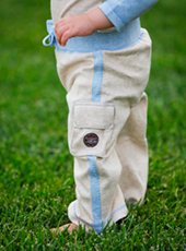 boys organic cotton yoga pants